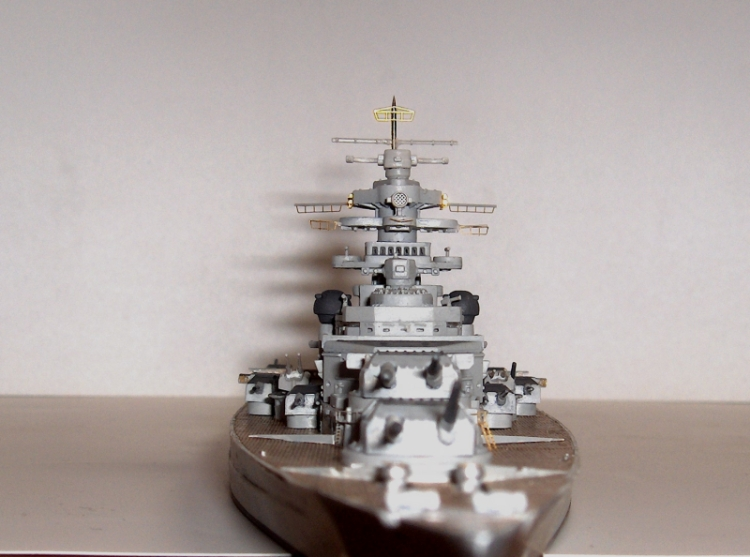 Bismarck 1/700 [Trumpeter] 699803HPIM2009