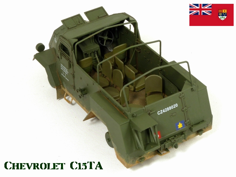 CHEVROLET C15TA - Normandie 44 - IBG 1/35 700090P1040550