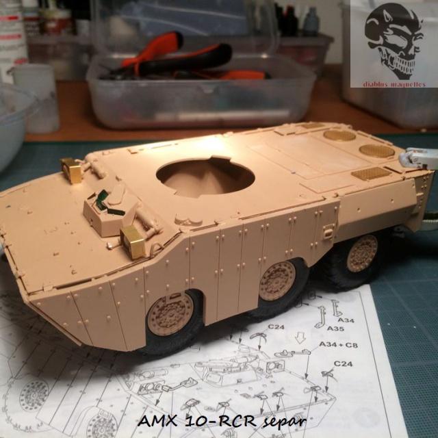 AMX 10 RCR SEPAR maquette Tiger Model 1/35 702369IMG3770