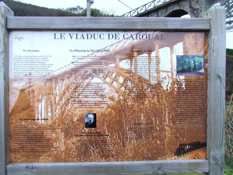 Chemin de fer des Côtes du Nord - le viaduc de Caroual (Erquy) 702378IMG6537