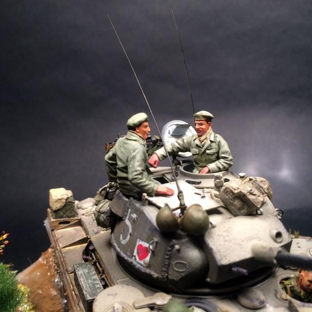 M24 Chaffee Indochine 1954 1ére RCC  702387IMG3742