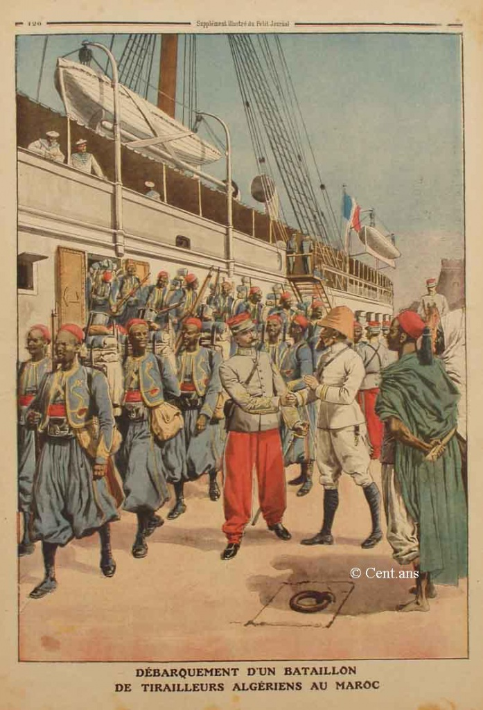 صفحات من تاريخ المغرب الحديث من خلال Le Petit journal illustré 702835pj106409041911b