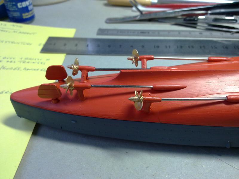 croiseur lourd Mogami au 1/350 par Pascal 94 - Tamiya  - Page 2 70413804102010805