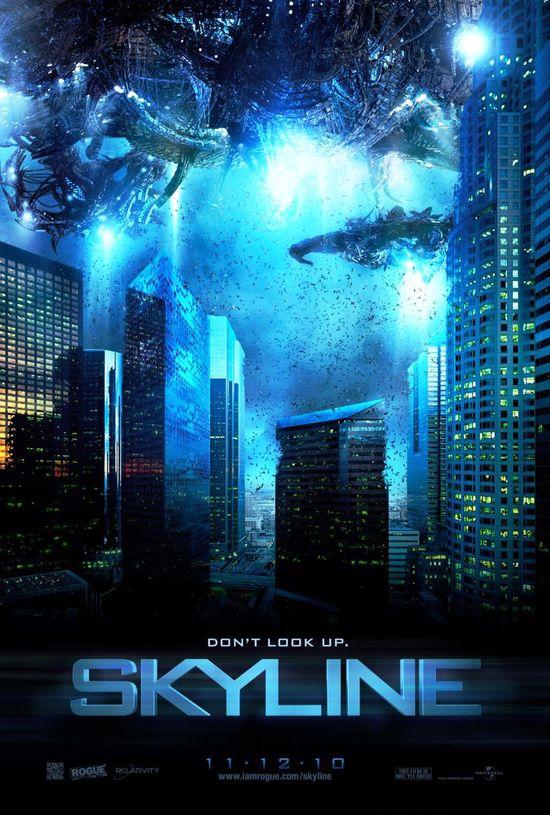 Invasion aliens ? World Invasion : Battle Los Angeles 704874Skylineaffiche