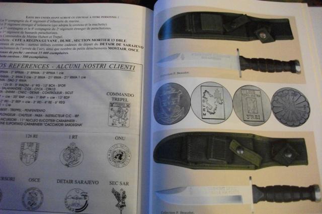 Couteaux et poignards baionnettes dans l' Armée Française 1940 à nos jours 707557DSCF3966