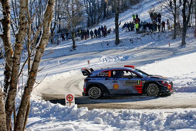 Rallye Monte Carlo Une Victoire En Power Stage pour Consoler Hyundai Motorsport  7084692017MONTECARLORM0331