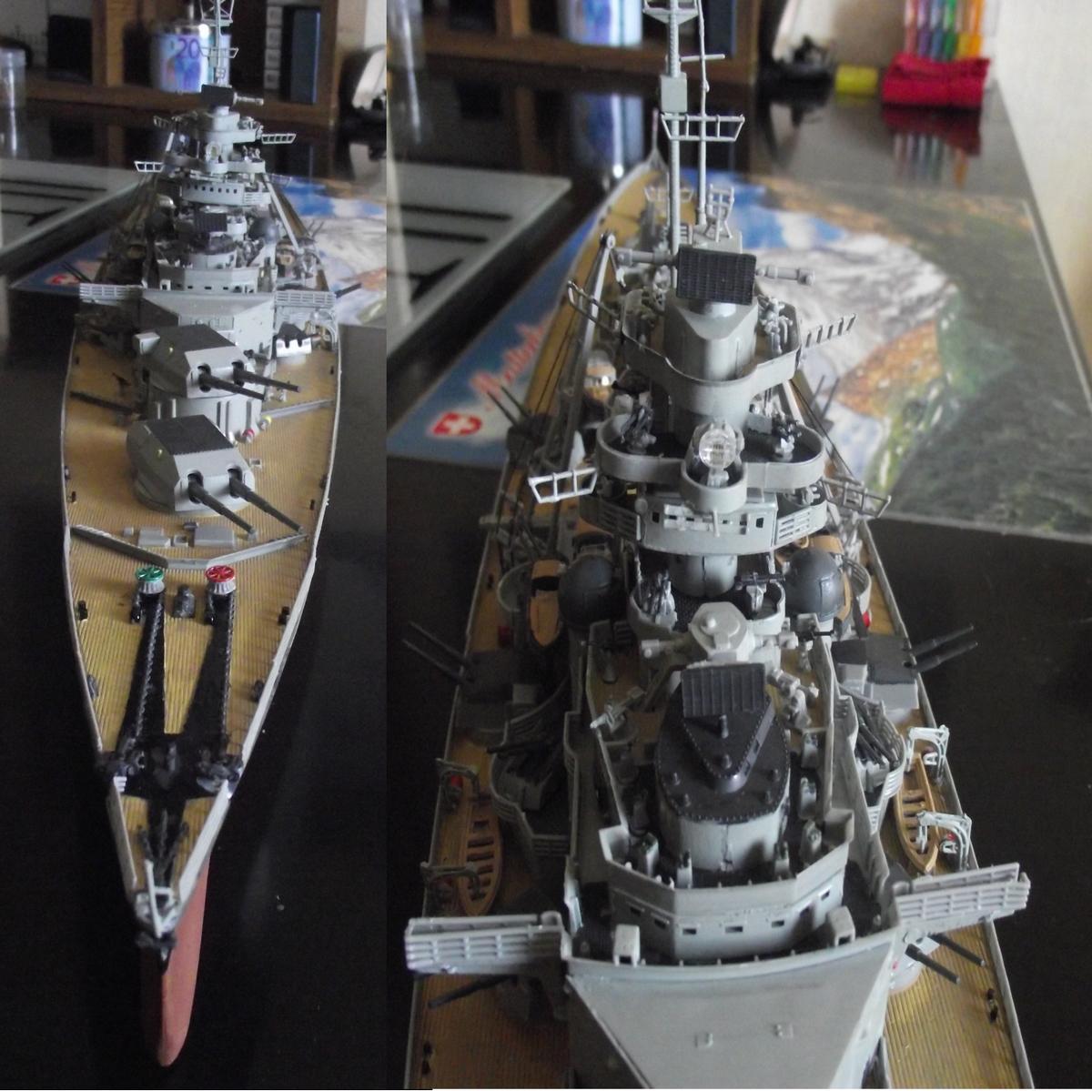 Collection Kriegsmarine 709340BismarckRevell1x35050