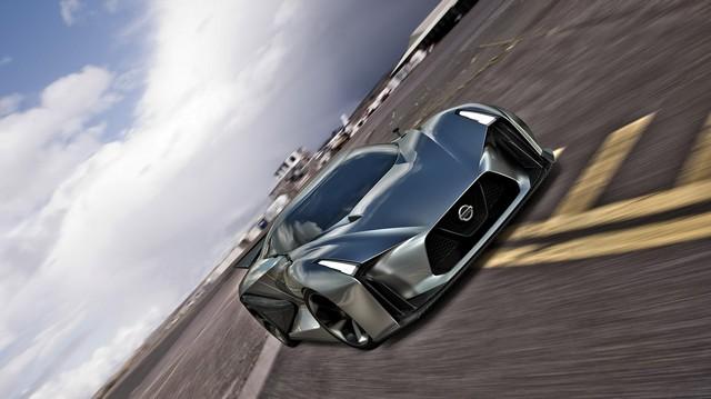 Le Nissan Concept 2020 Vision Gran Turismo Devient Réalité  71120812131115