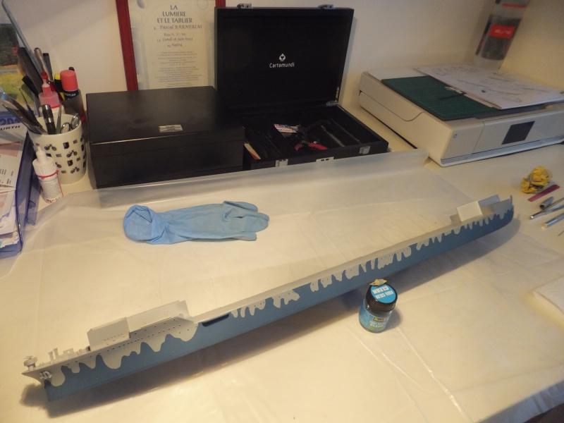 Porte avions Hornet cv8 par Pascalb au 350 de Trumpeter 711475003