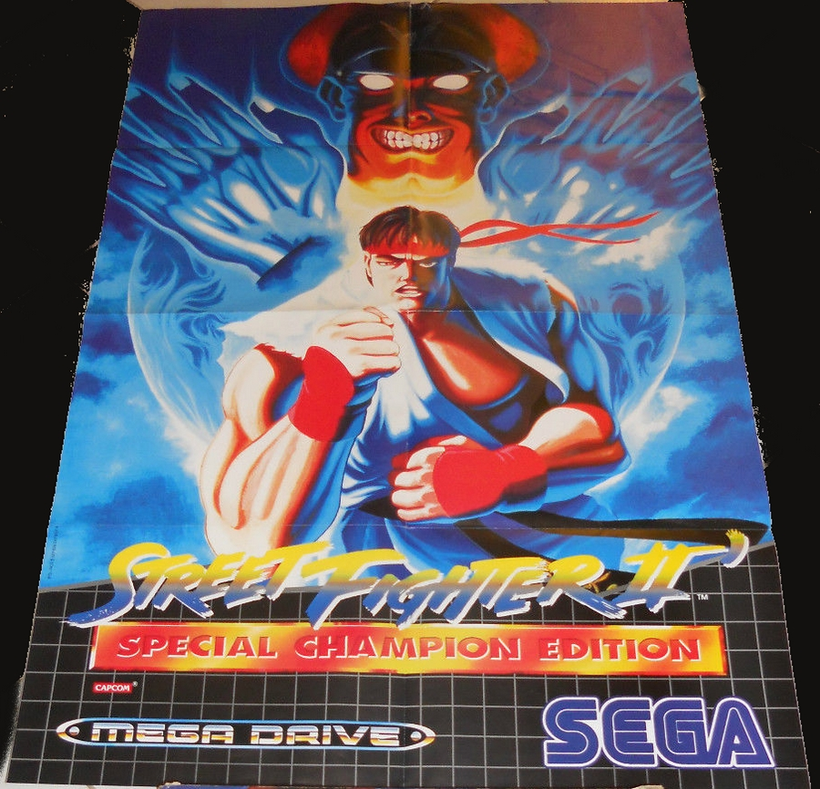 Les posters Megadrive 712228STREETF