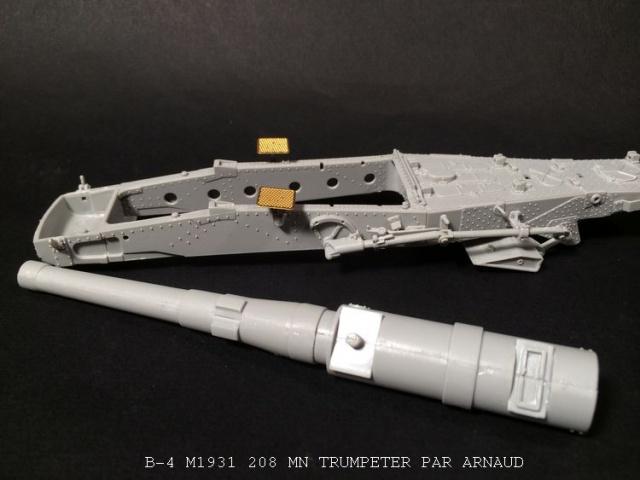 un B-4 M1931 203 mn (le marteau de Staline trumpeter 1/35 713560shridanetplamier014
