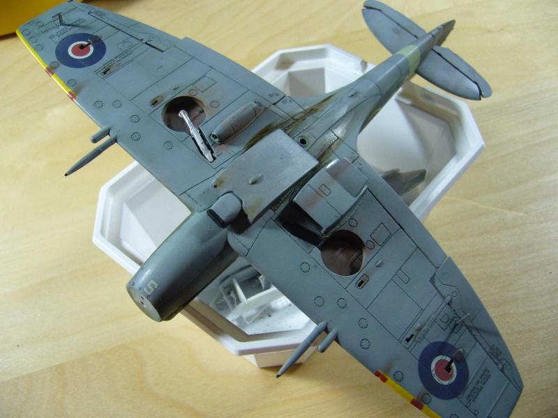 Spitfire XII du 41 RAF Sqn le 7 juin 1944, Airfix (projet AA) - Page 6 713617patine3