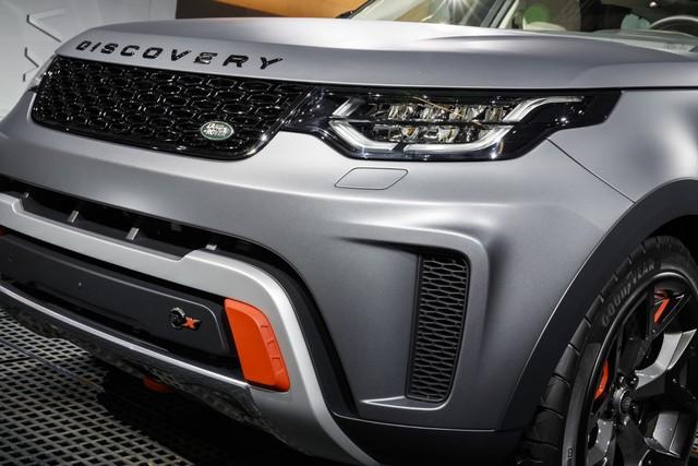 Nouveau Discovery SVX : Land Rover dévoile son champion tout-terrain au Salon de Francfort 714425jlrfrankfurt2017038