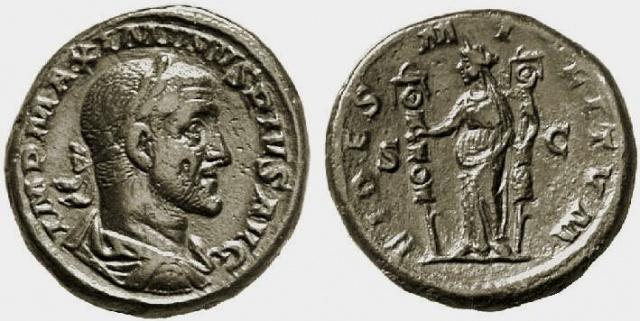 Sesterce de Maximin le Thrace 715108RIC0045