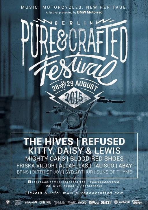 Rendez vous au Pure&Crafted Festival organisé par BMW Motorrad les 28 et 29 août à Berlin 715832P90189848lowRes