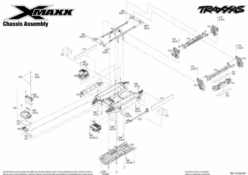 X-Maxx 77076-4 Vue Eclatée/Explosée 718269Capture1