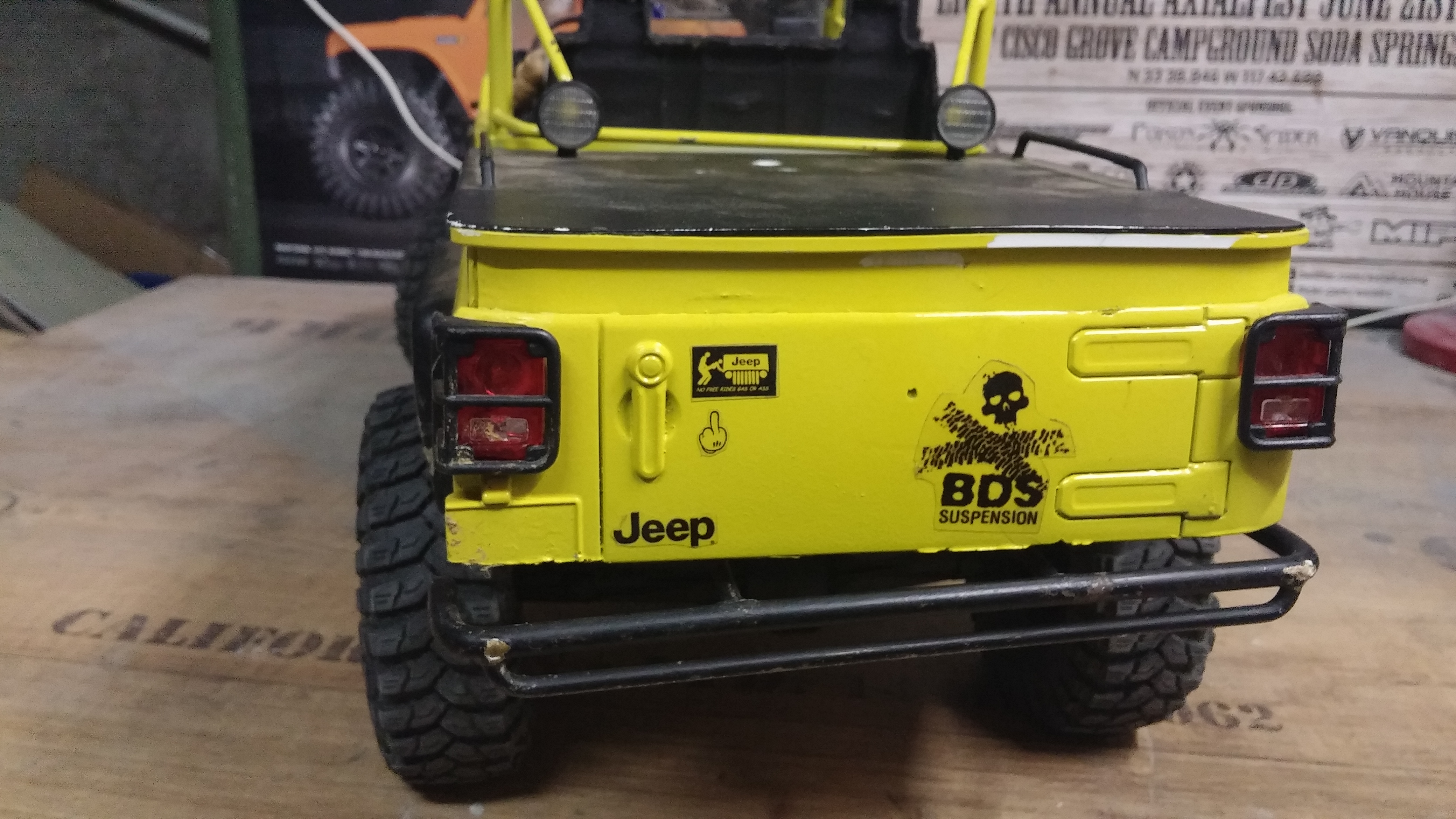 Jeep JK BRUTE Double Cab à la refonte! 71844620141016091156