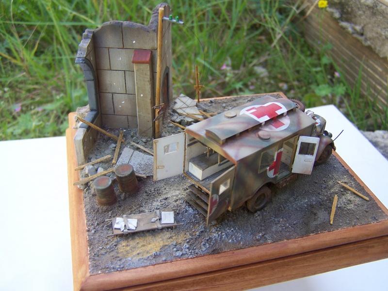 Opel Blitz Ambulance Normandie été 1944 - Page 2 7185521005898