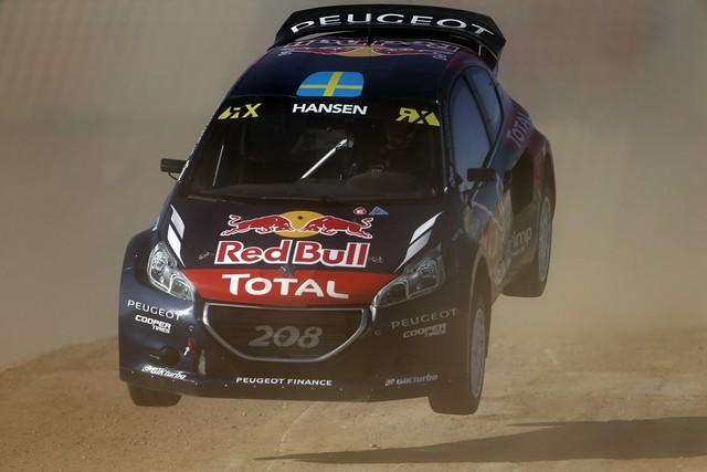 Le Team Peugeot Hansen creuse l'écart à Barcelone 7187842015RXBarcelona115