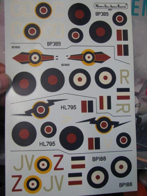 Hawker Hurricane Mk IId Trop 6 Sqn 1942 Hobbycraft 1/48.... Terminé! 719419IMG0833
