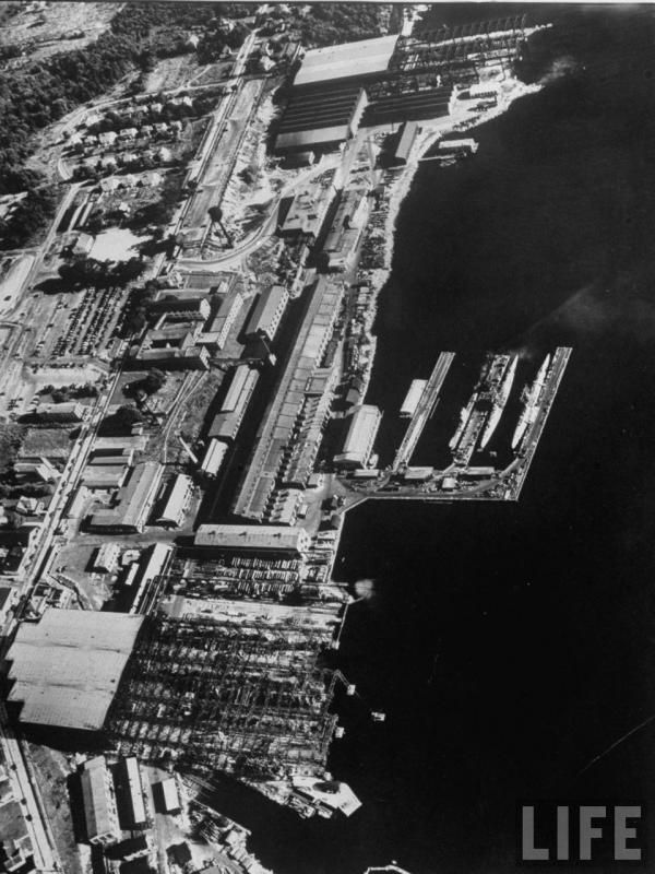 SOUS MARIN NUCLEAIRE D'ATTAQUE USS NAUTILUS 720124ChantiersNavalsdeGroton