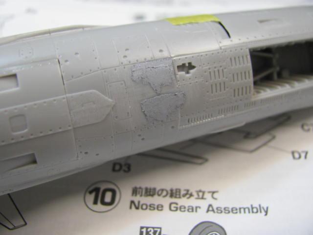 DUO: F-104N (NASA) + F-104G (BAF) Hazegawa 1/48  720387IMG_3324