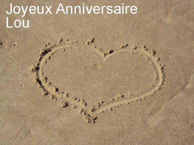bon anniversaire mon Lou 721125image150