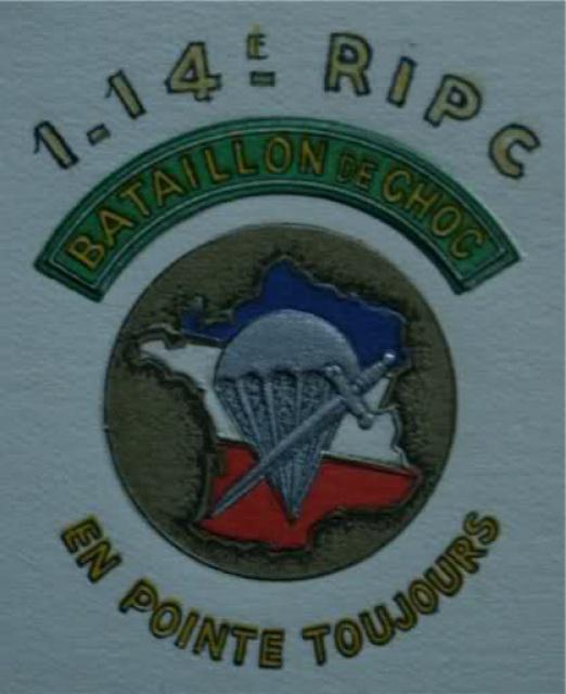 14ème Régiment d' Infanterie Parachutiste de Choc 721609114Choc