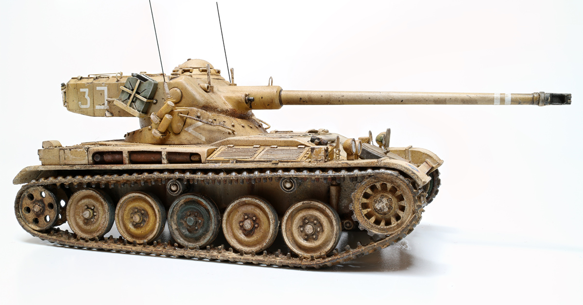 AMX 13   75mm 1/48 gaso-line 722284amx13md08wb