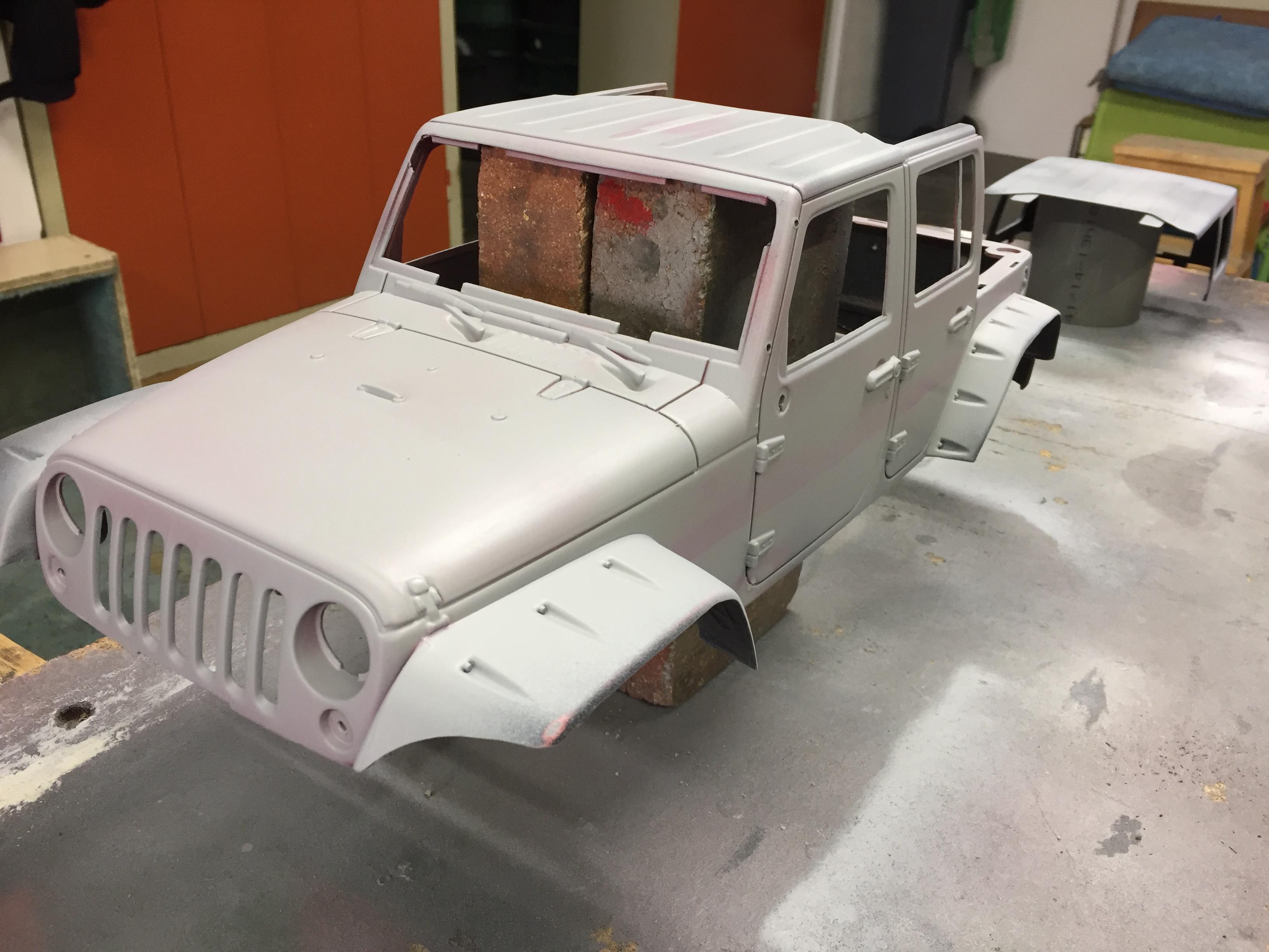 Jeep Rubicon Wraith New Bright 7252872012