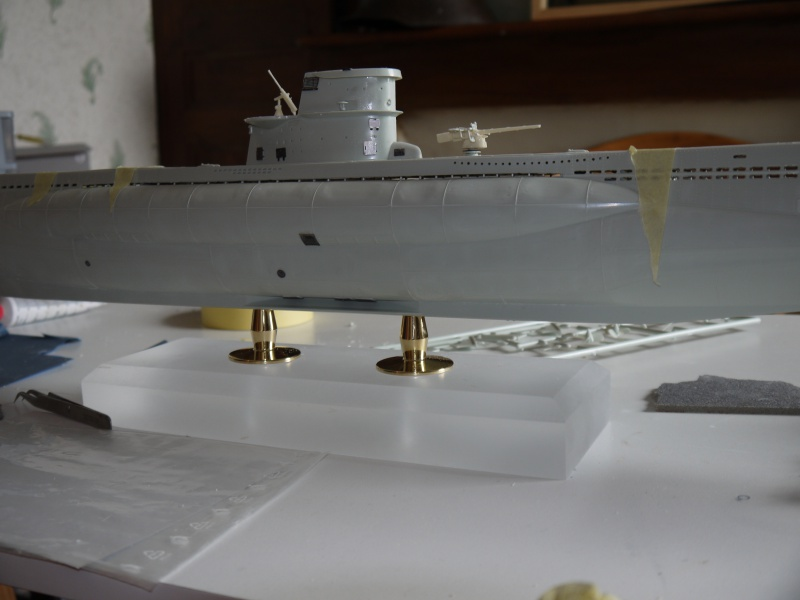 U boat VIIc  Set pe résine Eduard / CMK 727186P1020210