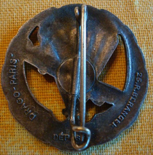 LES INSIGNES DU BATAILLON DE CHOC 1943/1963. 727862DSC09394