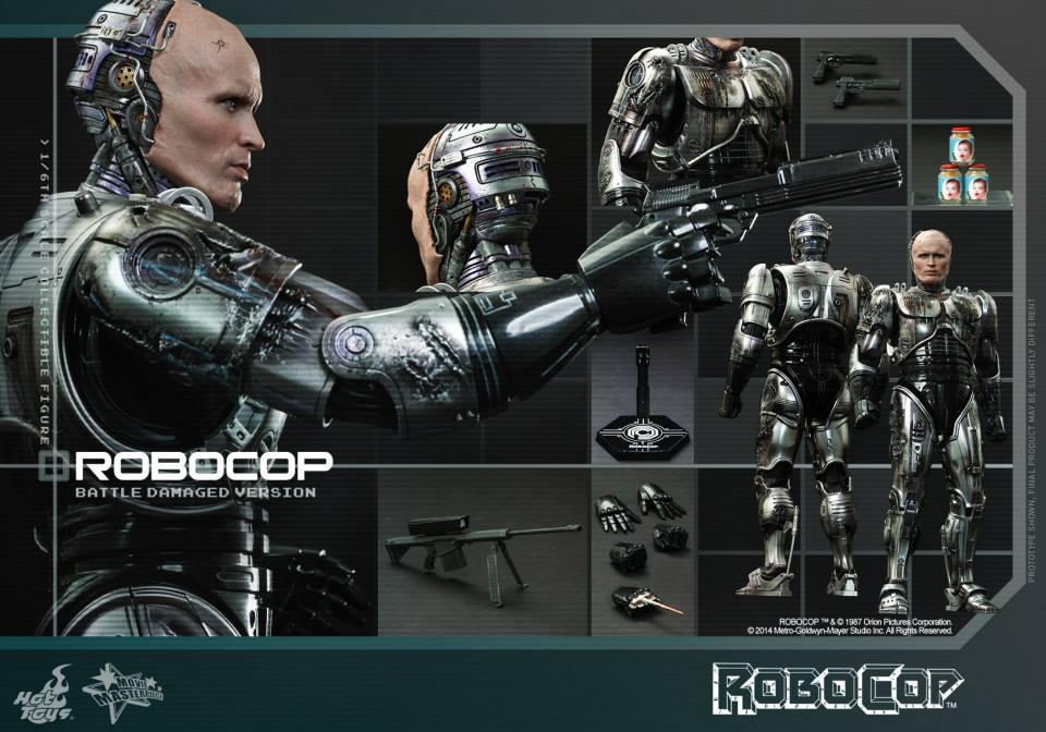 HOT TOYS - Robocop - Robocop (Battle Damaged Version) 729705116