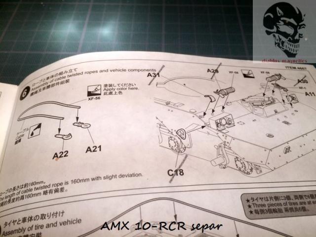 AMX 10 RCR SEPAR maquette Tiger Model 1/35 730840IMG3779