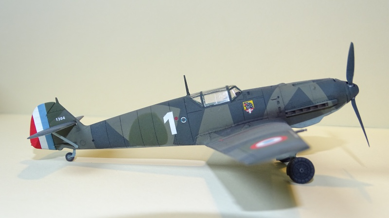 [ Tamiya ] Bf 109 E3 WNr 1304 du JG 76 capturé le 22/11/1939  732214DSC04033