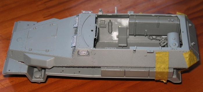 sd.kfz 251/16 flammpanzerwagen  Dragon 1/35 733915modles110008