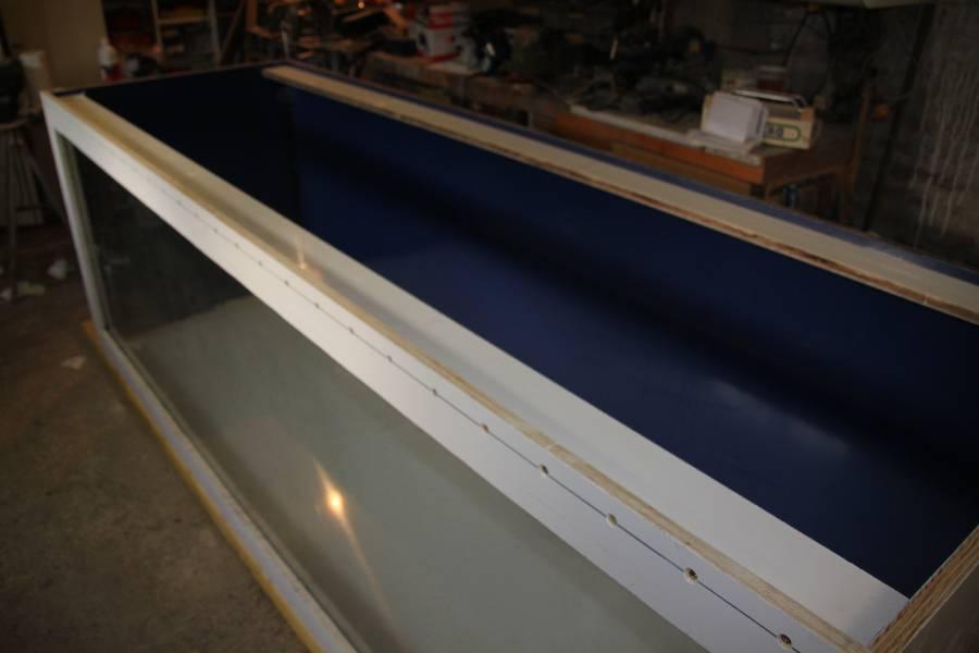 réalisation d'un aquarium en bois de 2000L 734317PXRIMG0012