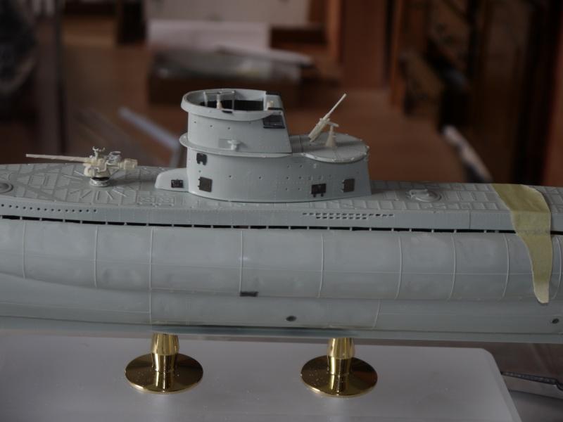 U boat VIIc  Set pe résine Eduard / CMK 735013P1020208