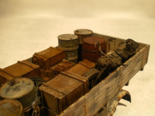 tracteur d artillerie soviétique chtz s-65 version allemande 1/35 trumpeter,tirant 2 blitz de la boue - Page 2 736450IMGP2330