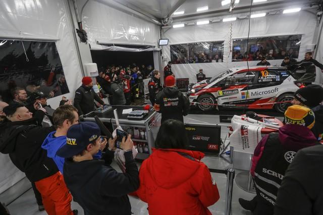 Jari-Matti Latvala Gagne En Suède Avec La Yaris WRC Et Prend La Tête Du Championnat Du Monde 736714AV2017002303