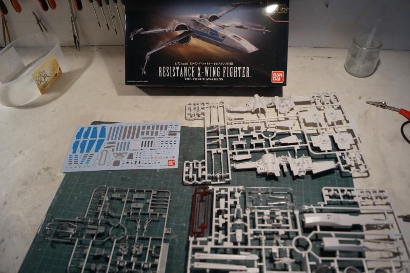 "X-Wing ""Resistance"" T-70 Bandaï 1/72 738089DSC01393"