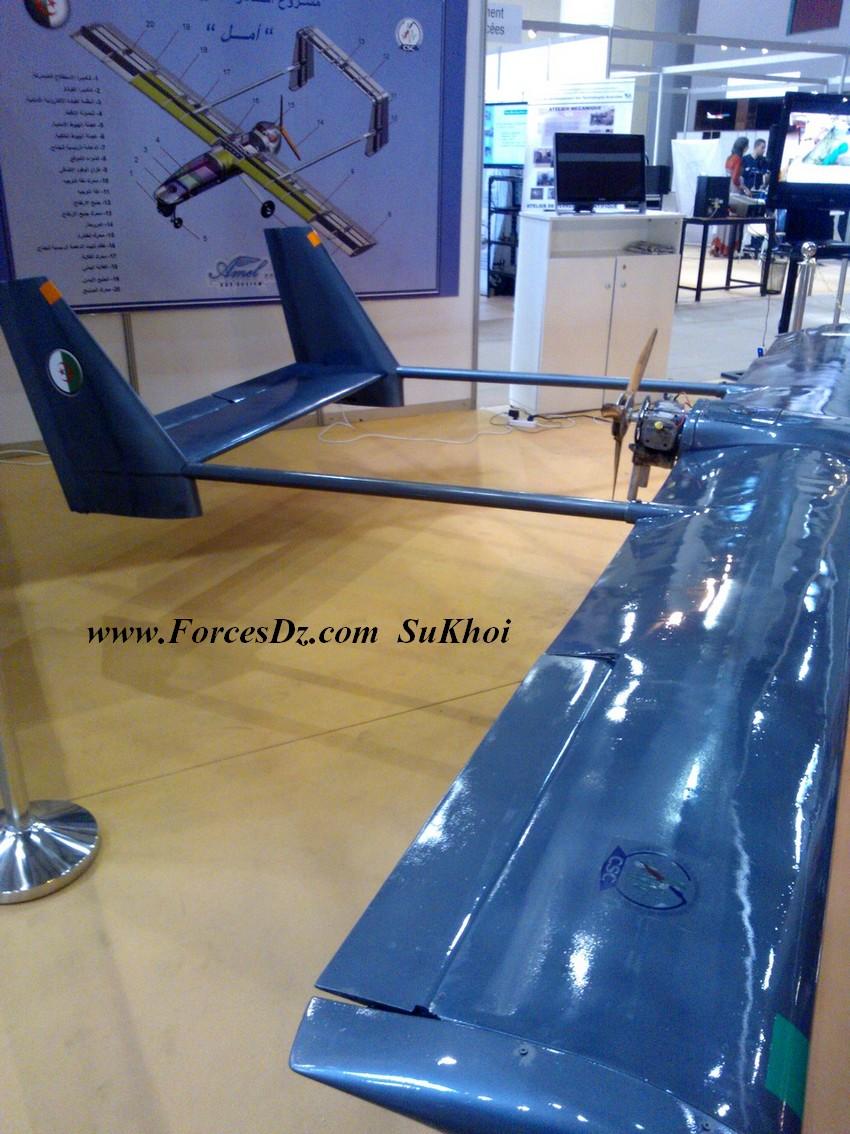 """الجزائر تصنع أربع طائرات من دون طيار """"جزائرية 100 بالمائة"""" 738365WP000090"""