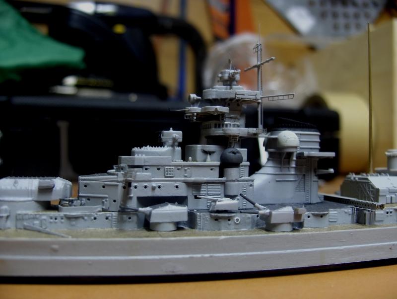 Bismarck 1/700 [Trumpeter] 738481HPIM2058