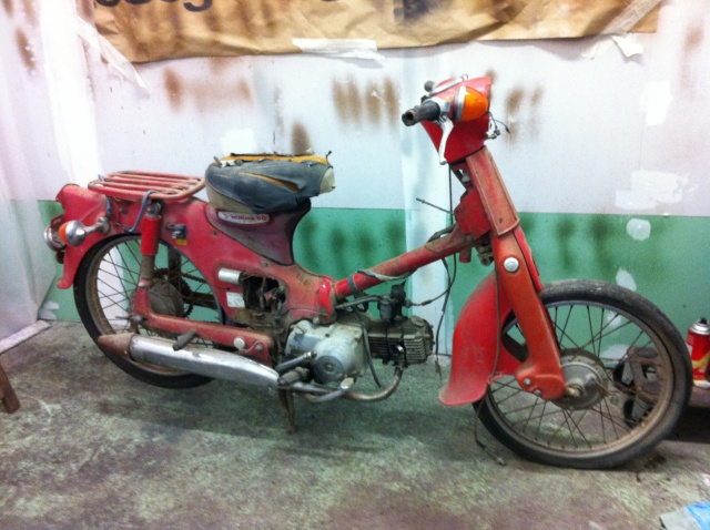 honda c50 bratstyle 739086photo9