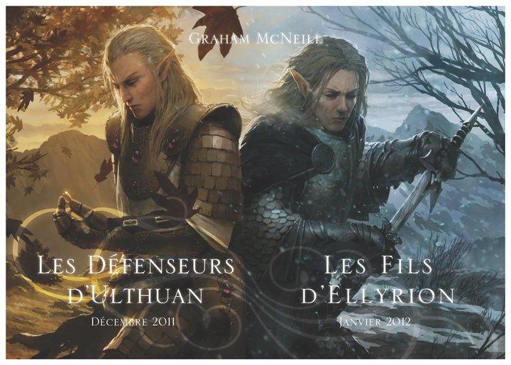 Defenders of Ulthuan / Sons of Ellyrion de Graham McNeill 739370UlthuanEllyrion