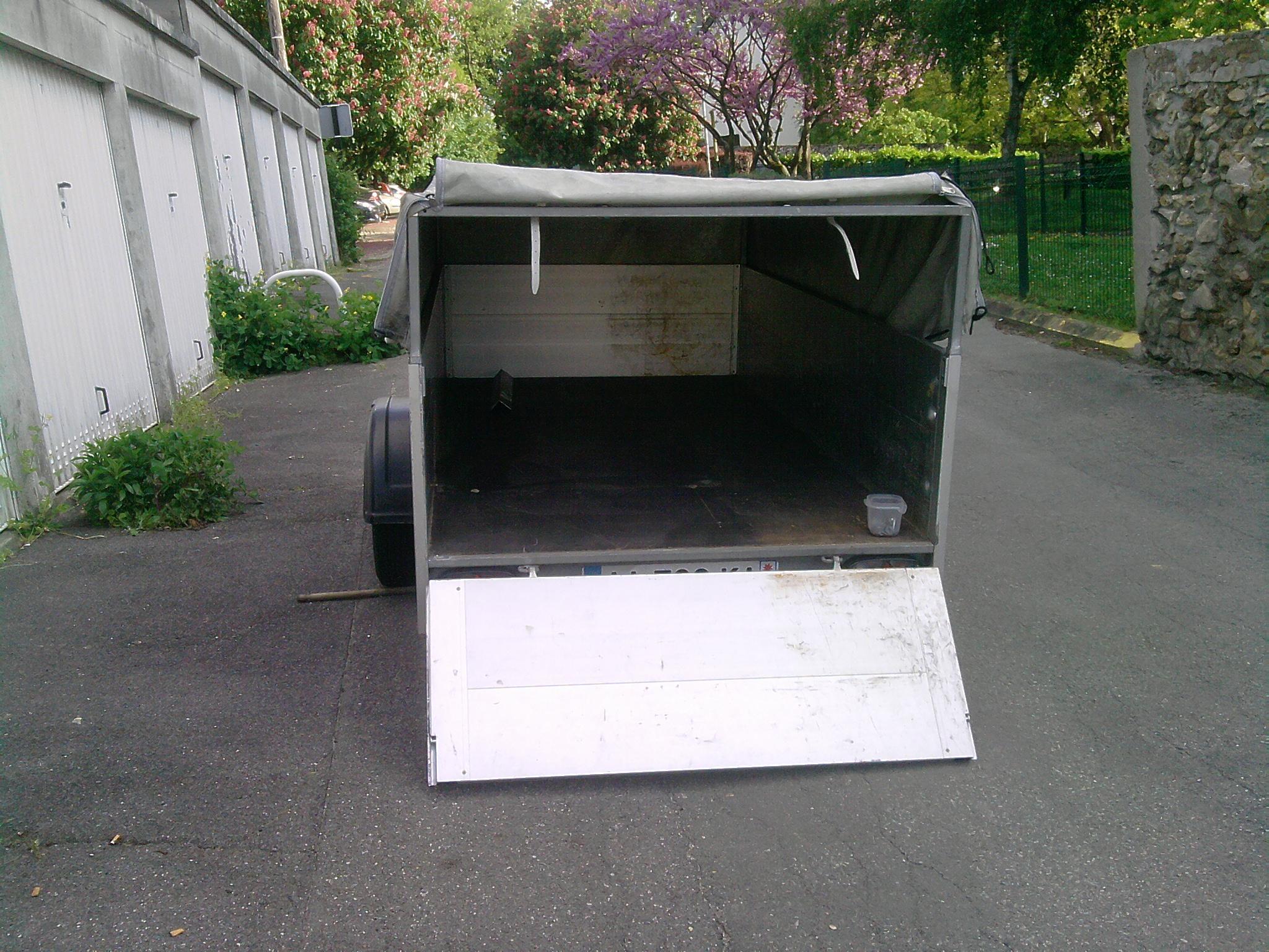 Vends,Echange Remorque Humbaur 2009 ( vendue ) 741361P1705131852