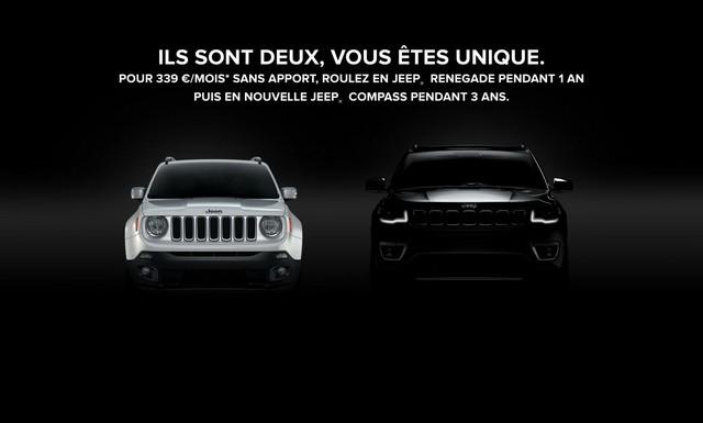"""Jeep invente le """"2 for 1"""" pour le lancement du nouveau Compass 741701jeepbrigeoffer"""