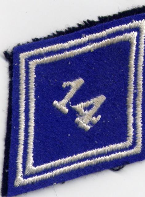 14ème Régiment d' Infanterie Parachutiste de Choc 742569Bras14