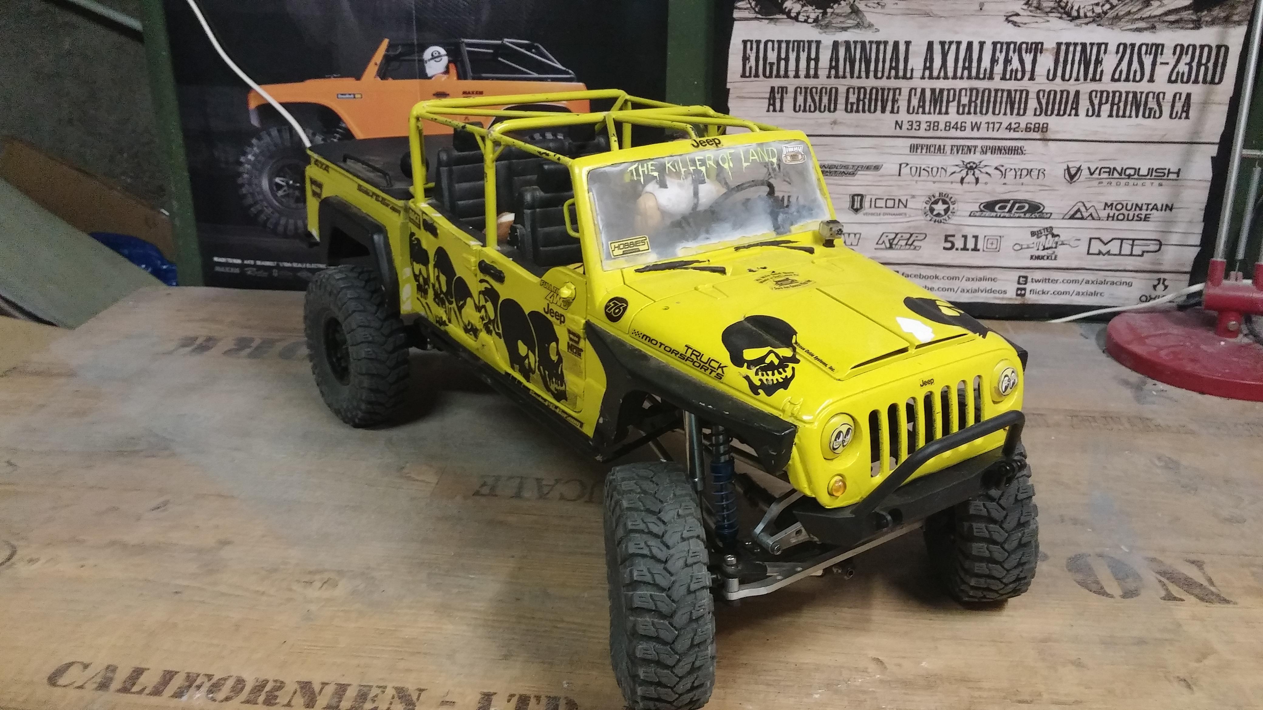 Jeep JK BRUTE Double Cab à la refonte! 74397620141016091049