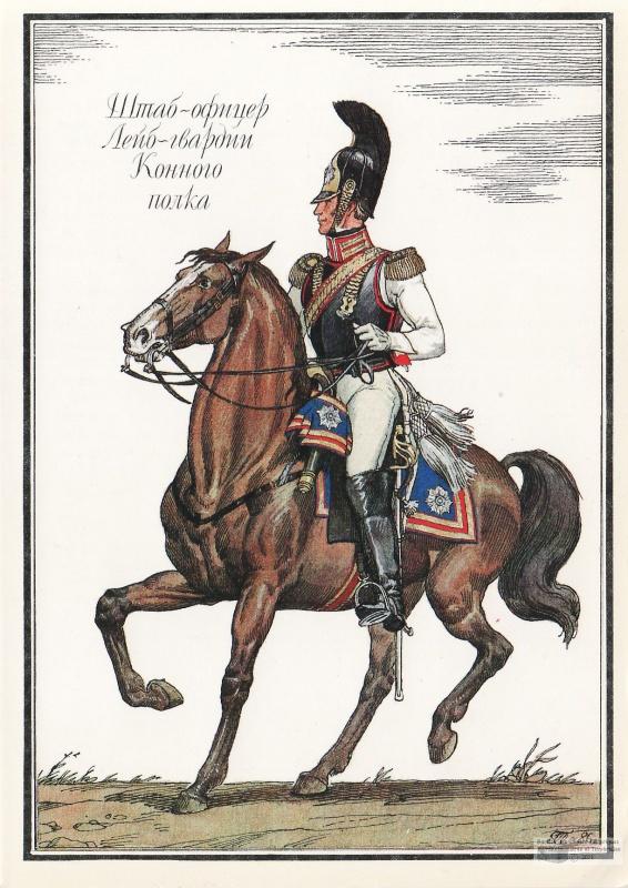 la cavalerie Russe en 1812 745873564